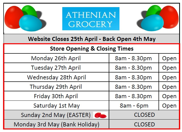 EASTER CLOSING TIMES-1